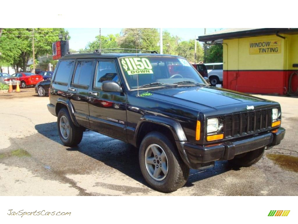 1999 jeep cherokee classic 4x4 in black 628606 jax sports cars. Cars Review. Best American Auto & Cars Review