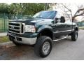 Ford F250 Super Duty XLT FX4 Crew Cab 4x4 Dark Green Satin Metallic photo #1