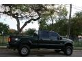 Ford F250 Super Duty XLT FX4 Crew Cab 4x4 Dark Green Satin Metallic photo #10