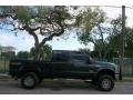 Ford F250 Super Duty XLT FX4 Crew Cab 4x4 Dark Green Satin Metallic photo #11