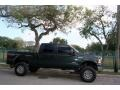 Ford F250 Super Duty XLT FX4 Crew Cab 4x4 Dark Green Satin Metallic photo #12