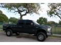 Ford F250 Super Duty XLT FX4 Crew Cab 4x4 Dark Green Satin Metallic photo #13