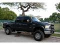 Ford F250 Super Duty XLT FX4 Crew Cab 4x4 Dark Green Satin Metallic photo #14