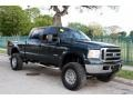 Ford F250 Super Duty XLT FX4 Crew Cab 4x4 Dark Green Satin Metallic photo #15
