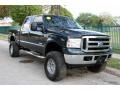 Ford F250 Super Duty XLT FX4 Crew Cab 4x4 Dark Green Satin Metallic photo #16