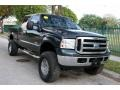 Ford F250 Super Duty XLT FX4 Crew Cab 4x4 Dark Green Satin Metallic photo #17