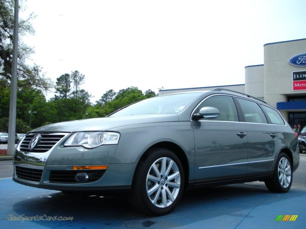 2007 volkswagen passat 3 6 4motion wagon in granite green metallic 002099 jax sports cars. Black Bedroom Furniture Sets. Home Design Ideas