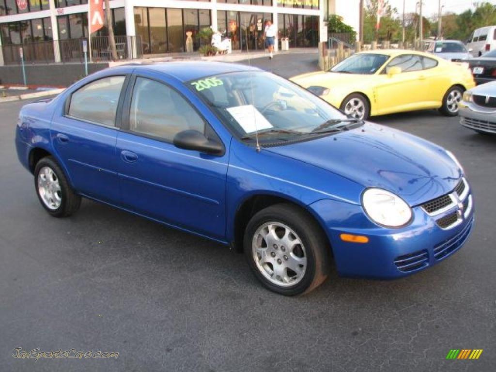 2005 Dodge Neon Sxt In Electric Blue Pearlcoat 157994