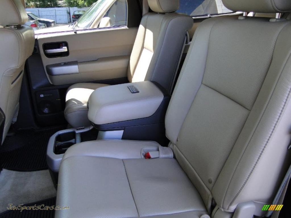 2008 Toyota Sequoia Platinum In Arctic Frost Pearl Photo