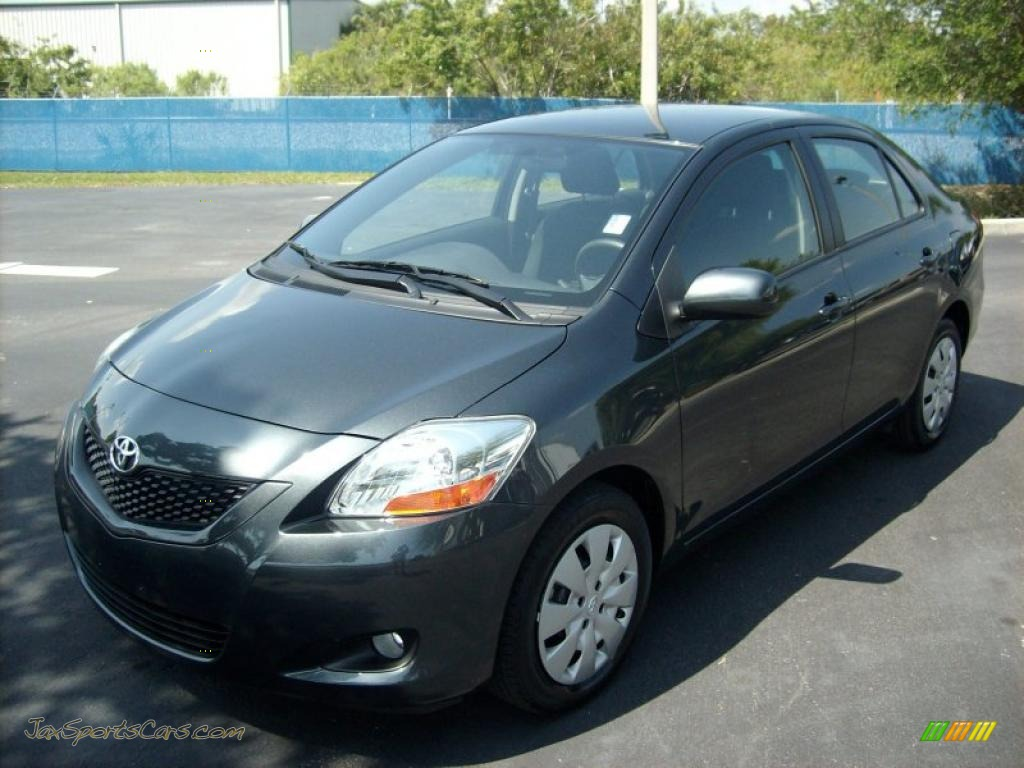 2009 toyota yaris sedan in flint mica 351120 jax sports cars cars for sale in florida. Black Bedroom Furniture Sets. Home Design Ideas