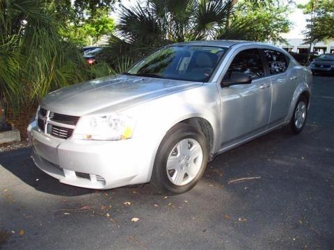 Dodge Avenger 2008 Silver. 2008 Dodge Avenger SE