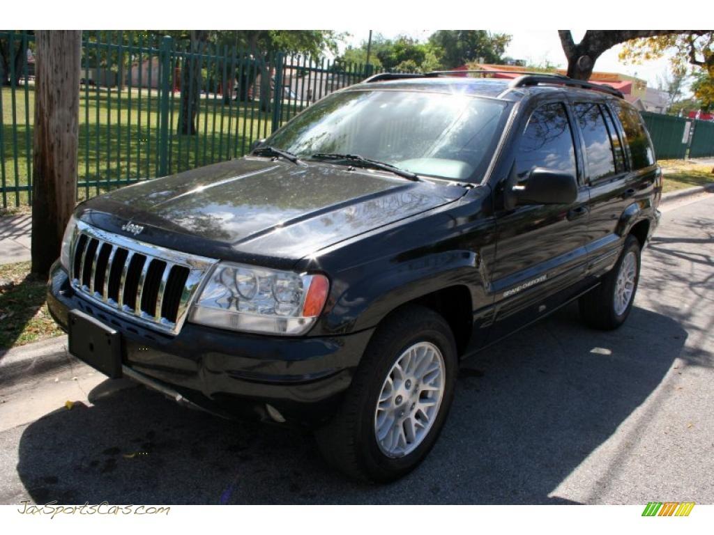 2004 jeep grand cherokee limited 4x4 in brillant black crystal pearl 177152 jax sports cars. Black Bedroom Furniture Sets. Home Design Ideas