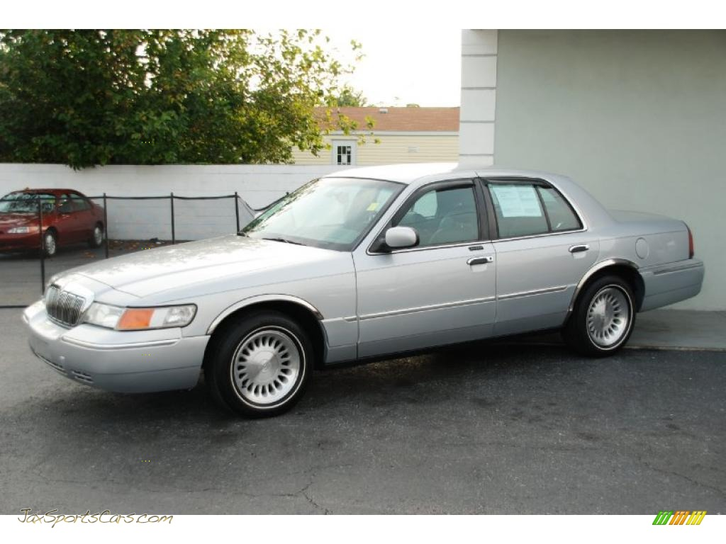 2001 mercury grand marquis ls in silver frost metallic 625055 jax sports cars cars for sale in florida jax sports cars