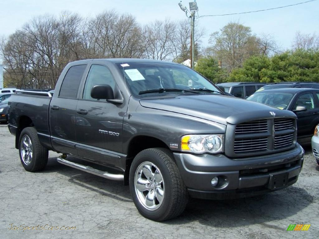 2004 dodge ram 1500 slt quad cab 4x4 in graphite metallic. Black Bedroom Furniture Sets. Home Design Ideas