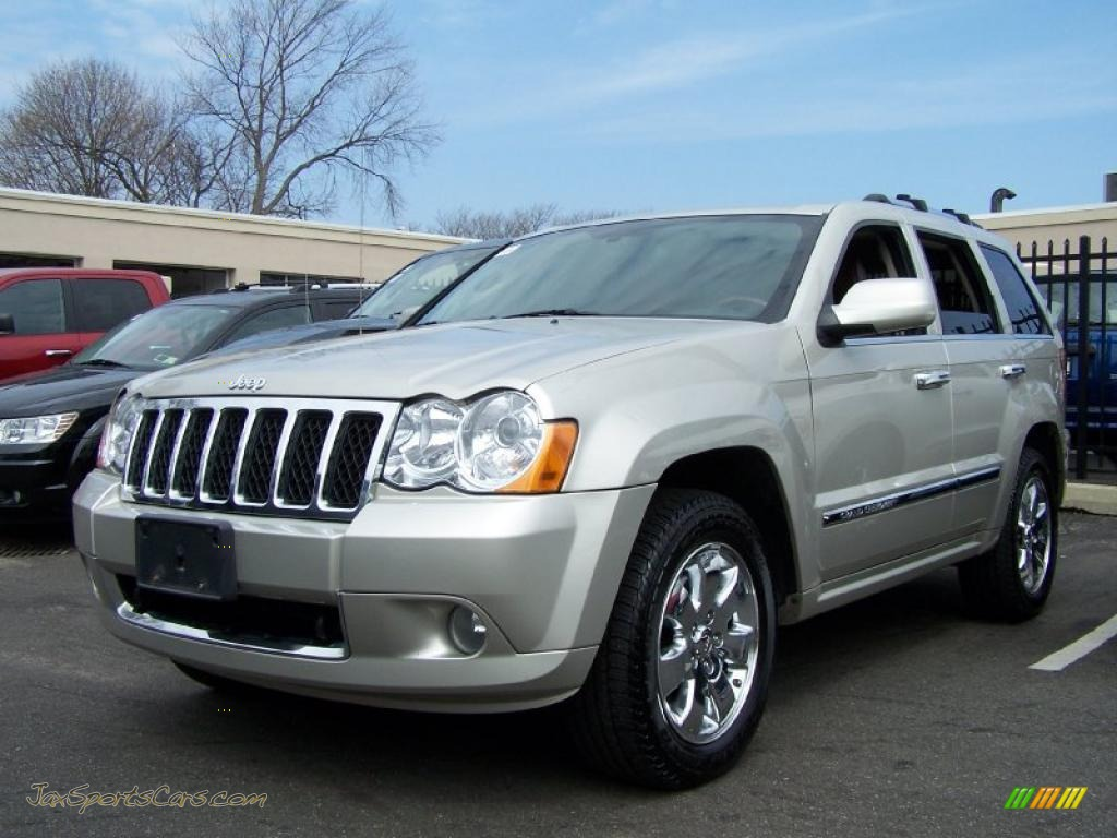 2008 Jeep Grand Cherokee Overland 4x4 In Bright Silver