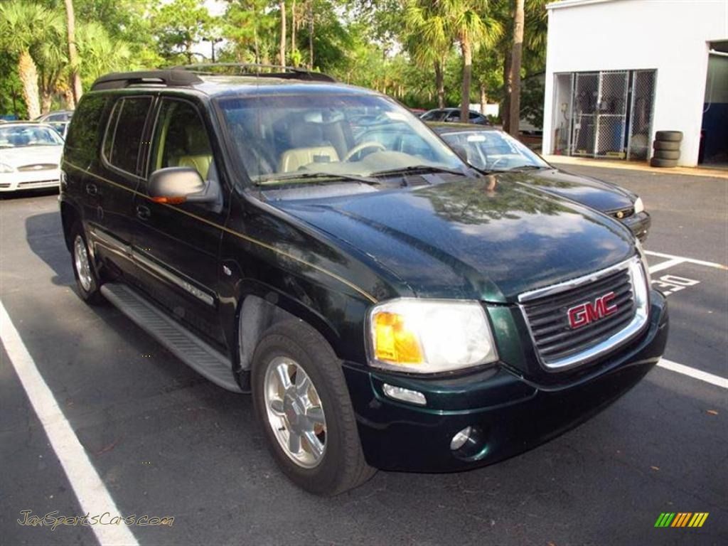 2003 gmc envoy xl slt in polo green metallic 193061 jax sports cars cars for sale in florida. Black Bedroom Furniture Sets. Home Design Ideas