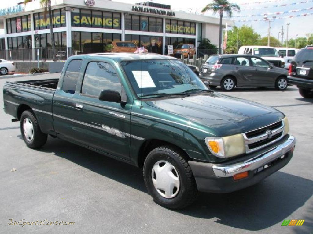 1999 toyota tacoma sr5 extended cab in imperial jade mica 460922 jax sports cars cars for. Black Bedroom Furniture Sets. Home Design Ideas