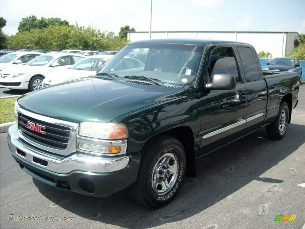 2003 gmc sierra 1500 extended cab in polo green metallic. Black Bedroom Furniture Sets. Home Design Ideas