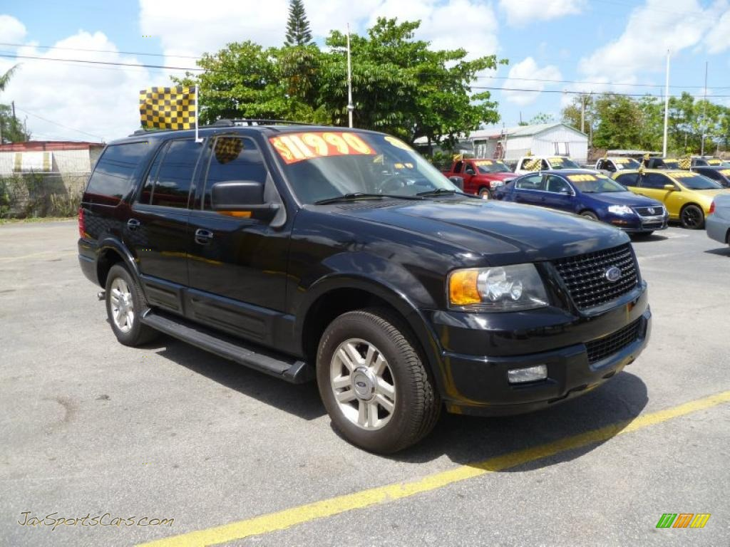 2004 ford expedition eddie bauer in black b17814 jax sports cars cars for sale in florida. Black Bedroom Furniture Sets. Home Design Ideas