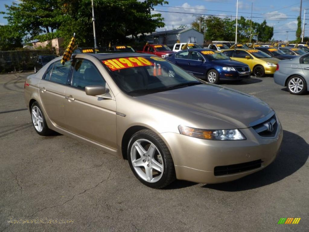 2004 acura tl 3 2 in desert mist metallic 052035 jax sports cars cars for sale in florida. Black Bedroom Furniture Sets. Home Design Ideas