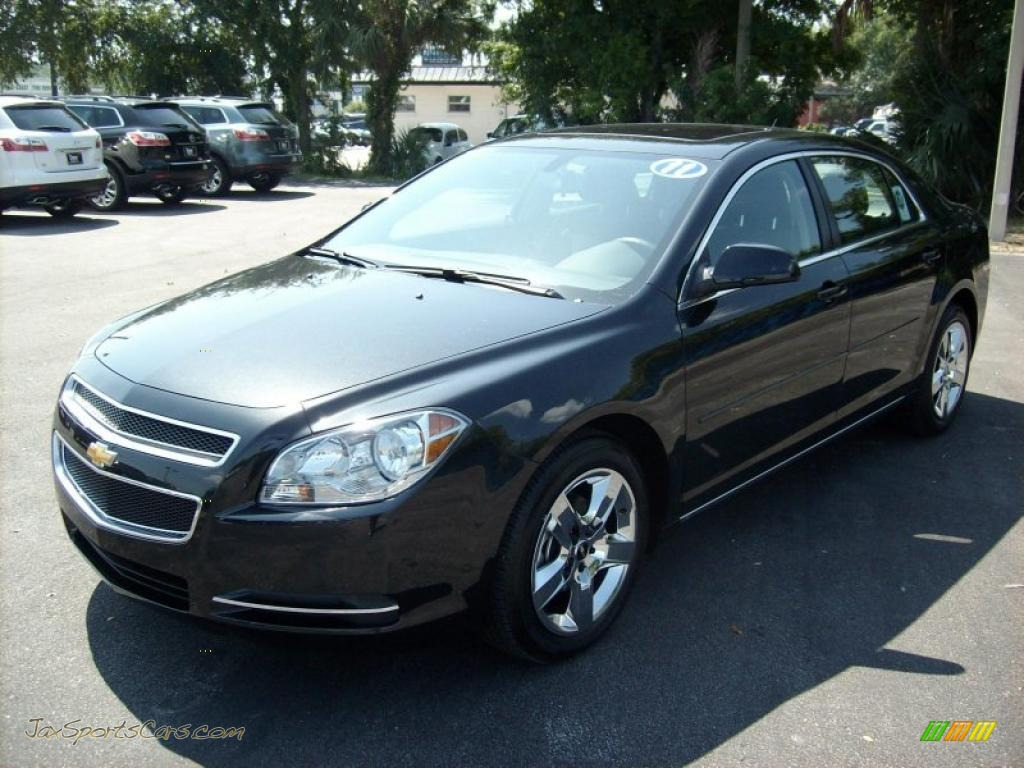 2011 Malibu LT - Black Granite Metallic / Ebony photo #1