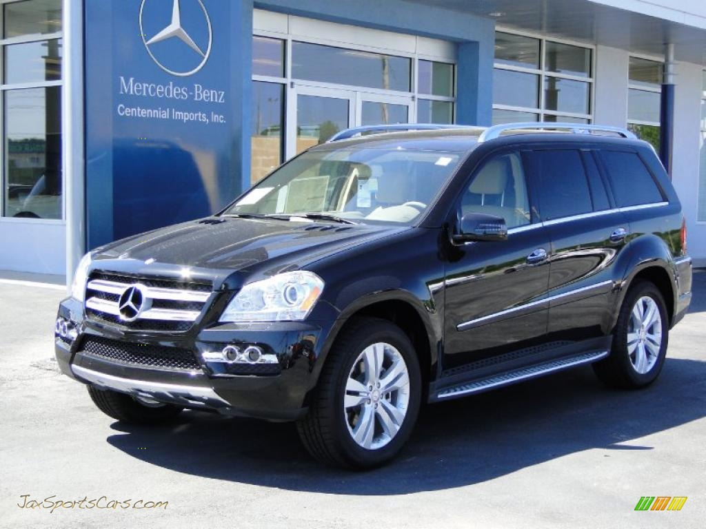 2011 mercedes benz gl 450 4matic in obsidian black metallic 706430 jax sports cars cars. Black Bedroom Furniture Sets. Home Design Ideas