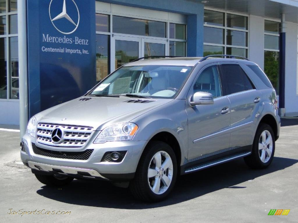 2011 mercedes benz ml 350 in palladium silver metallic 709532 jax sports cars cars for. Black Bedroom Furniture Sets. Home Design Ideas