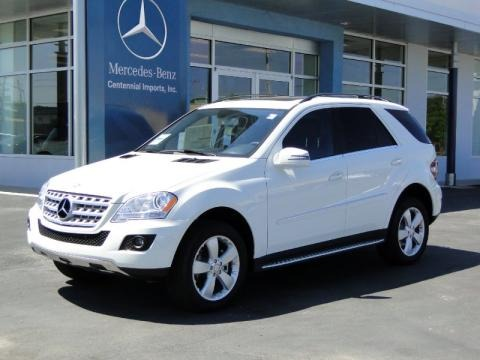 Mercedes Ml350 White. 2011 Mercedes-Benz ML 350