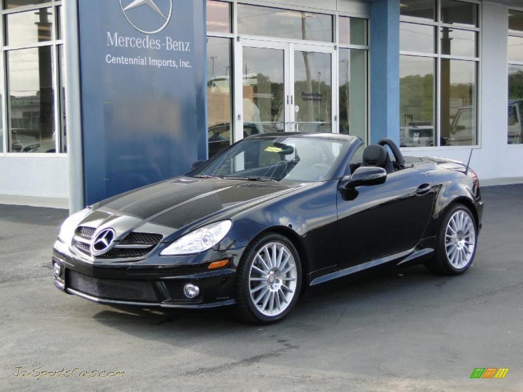 2010 mercedes benz slk 300 roadster in black 230592 for Mercedes benz slk roadster for sale