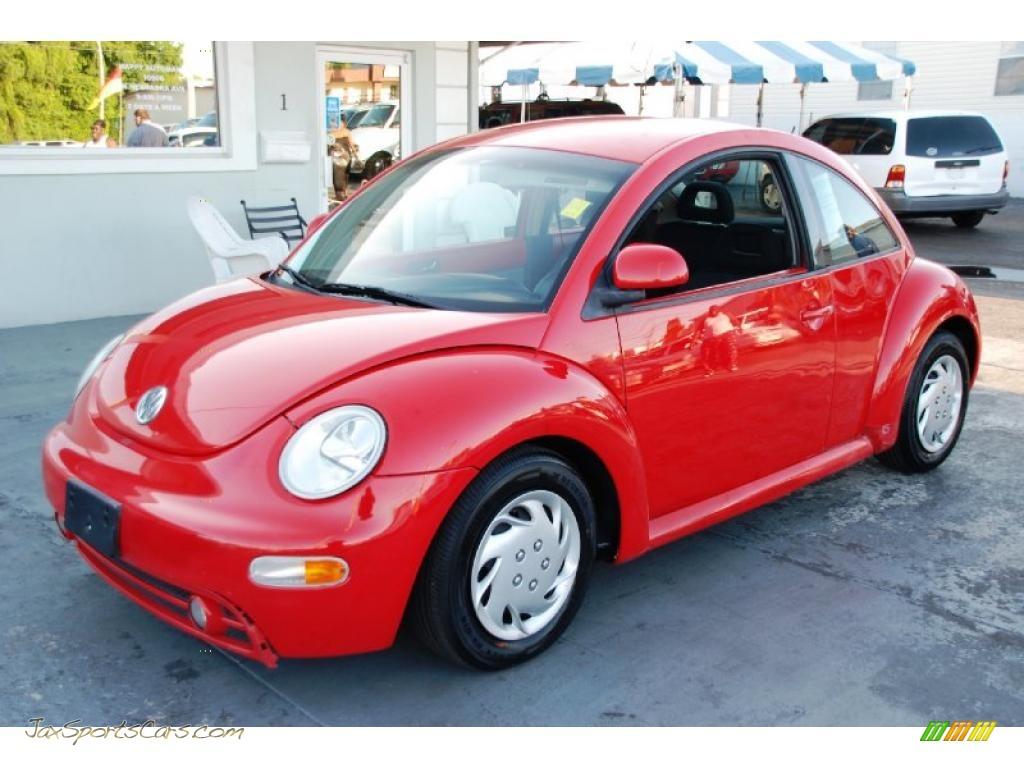 1998 volkswagen new beetle 2 0 coupe in tornado red. Black Bedroom Furniture Sets. Home Design Ideas