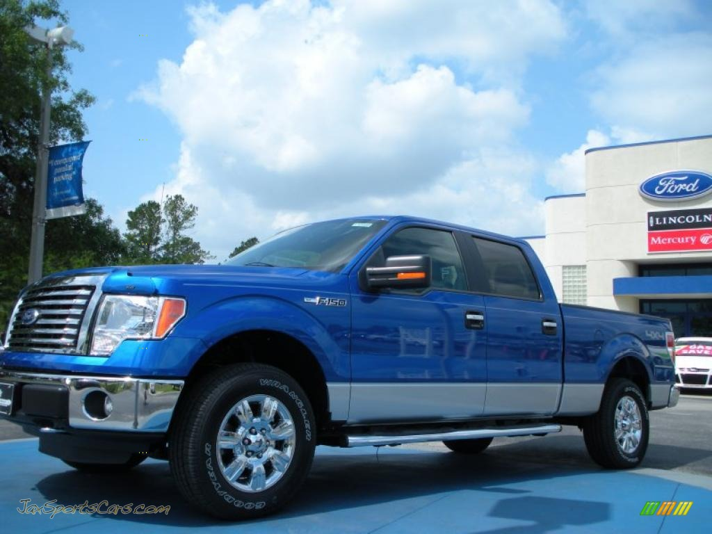 2011 Ford F150 Xlt Supercrew 4x4 In Blue Flame Metallic