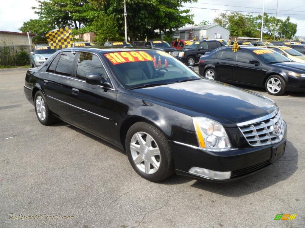 2007 Cadillac Dts Sedan In Black Raven 141084 Jax