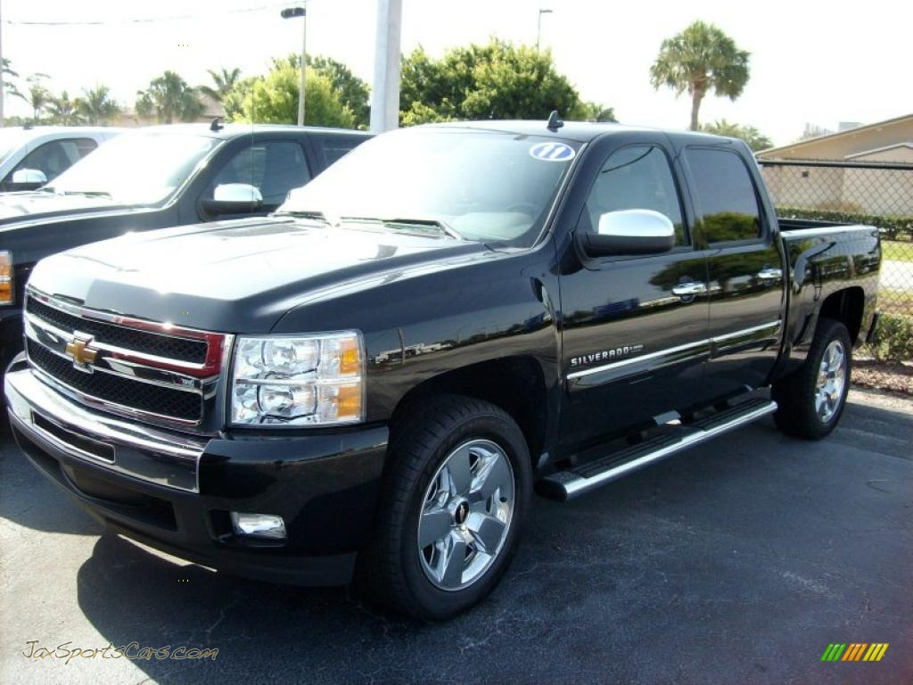 2011 Chevrolet Silverado 1500 Lt Crew Cab In Black