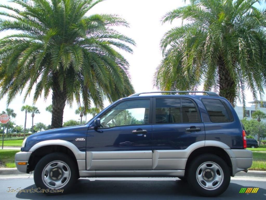 2002 Suzuki Grand Vitara Jlx 4x4 In Catseye Blue Metallic