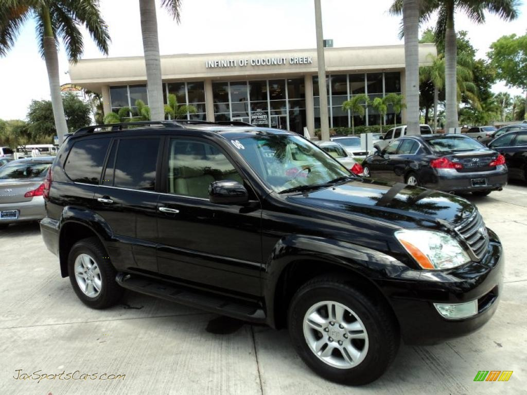 2006 Lexus Gx 470 In Black Onyx 125565 Jax Sports Cars