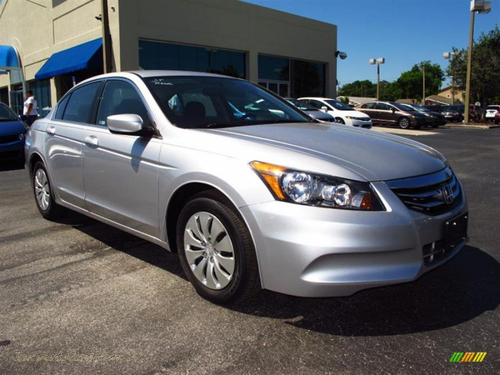 2011 Honda Accord Lx Sedan In Alabaster Silver Metallic