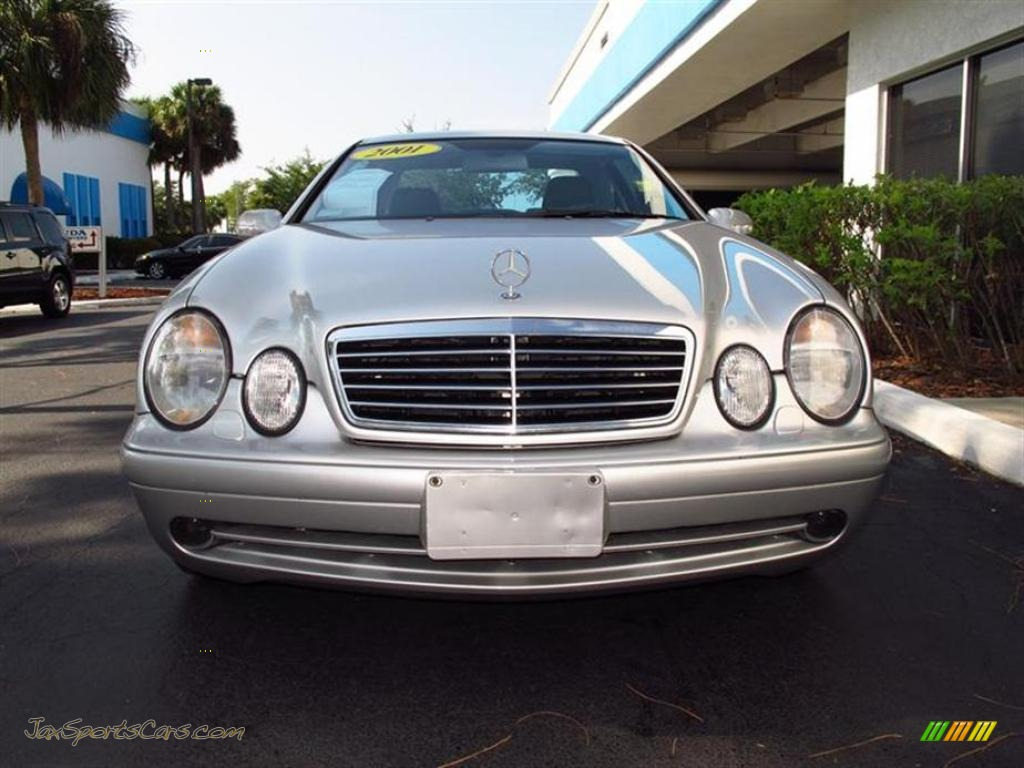 2001 mercedes benz clk 430 coupe in brilliant silver for 2001 mercedes benz clk430