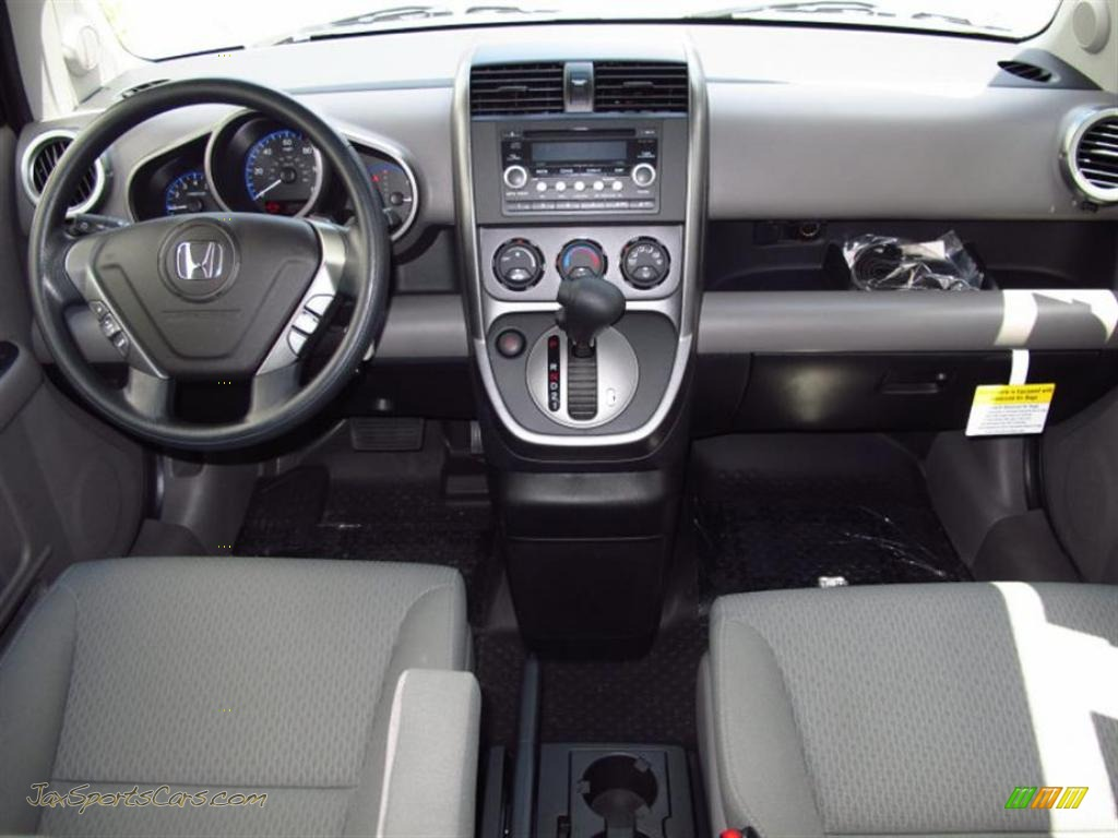 2011 Element EX 4WD   Omni Blue Pearl / Gray Photo #4