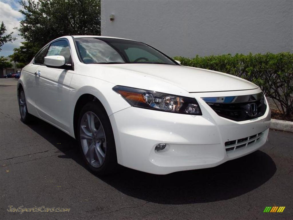 2011 Honda Accord Ex L V6 Coupe In Taffeta White 005795