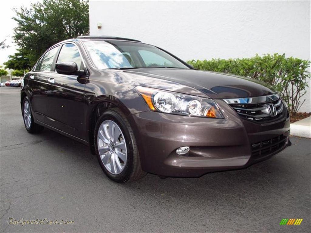 2011 Honda Accord Ex L V6 Sedan In Dark Amber Metallic