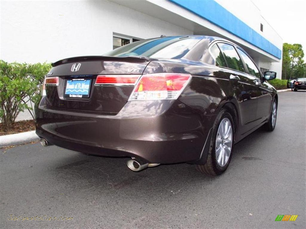 2011 Honda Accord Ex L V6 Sedan In Dark Amber Metallic
