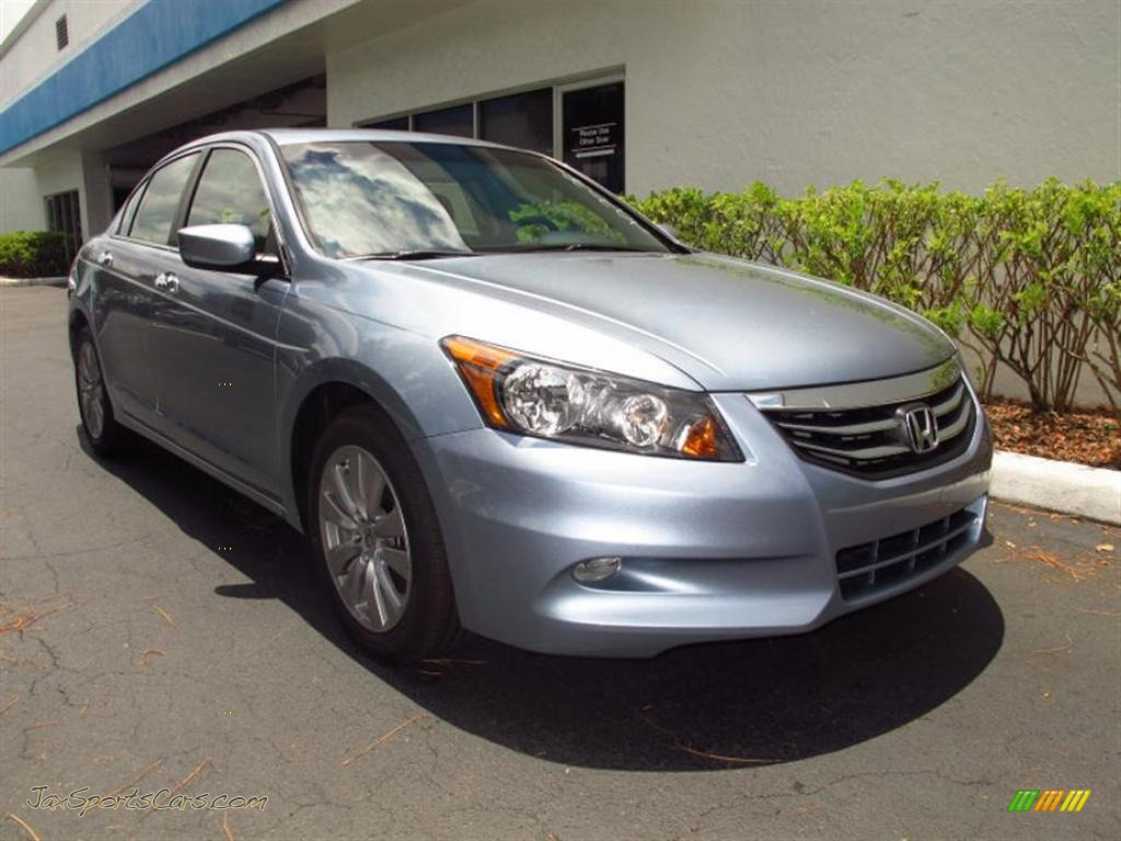 2011 Honda Accord Ex L V6 Sedan In Celestial Blue Metallic