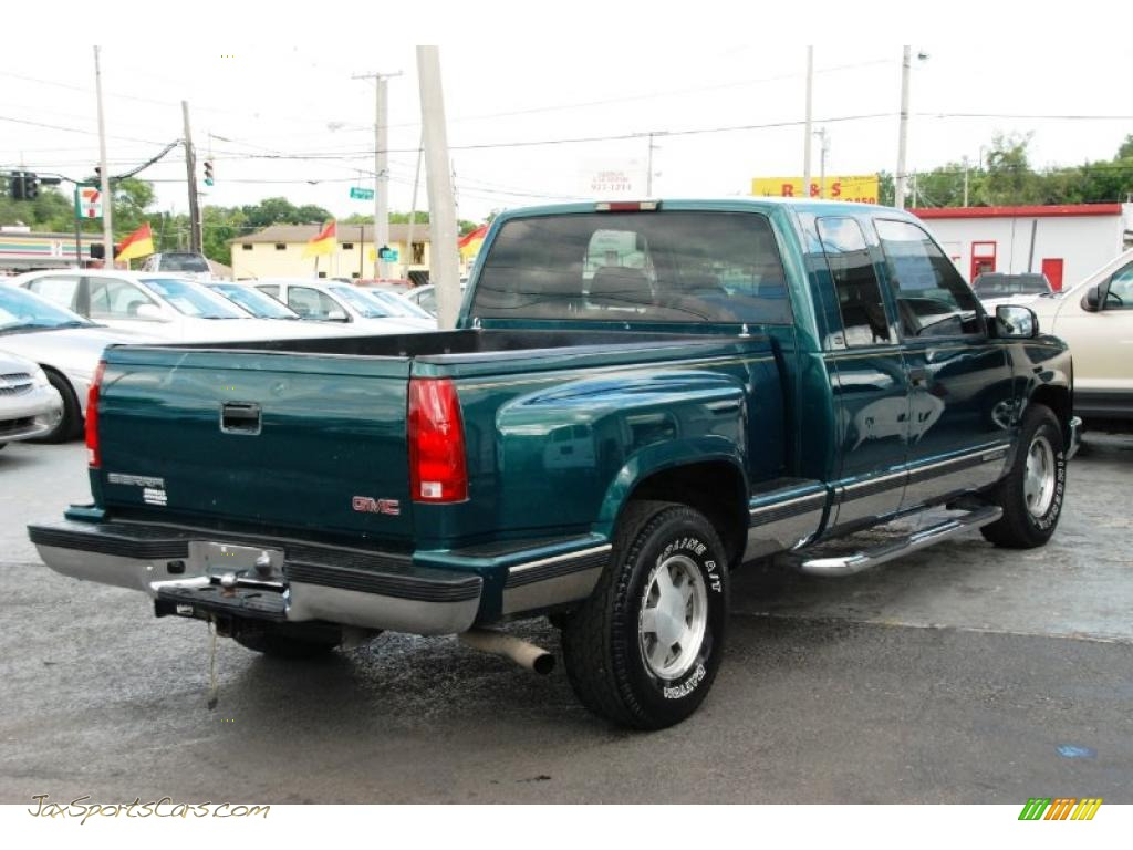 1998 gmc sierra 1500 sle extended cab in laguna green. Black Bedroom Furniture Sets. Home Design Ideas