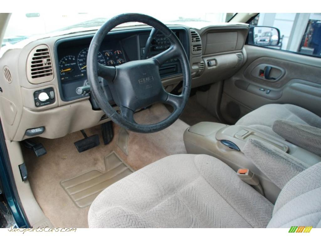 1998 Gmc Sierra 1500 Sle Extended Cab In Laguna Green
