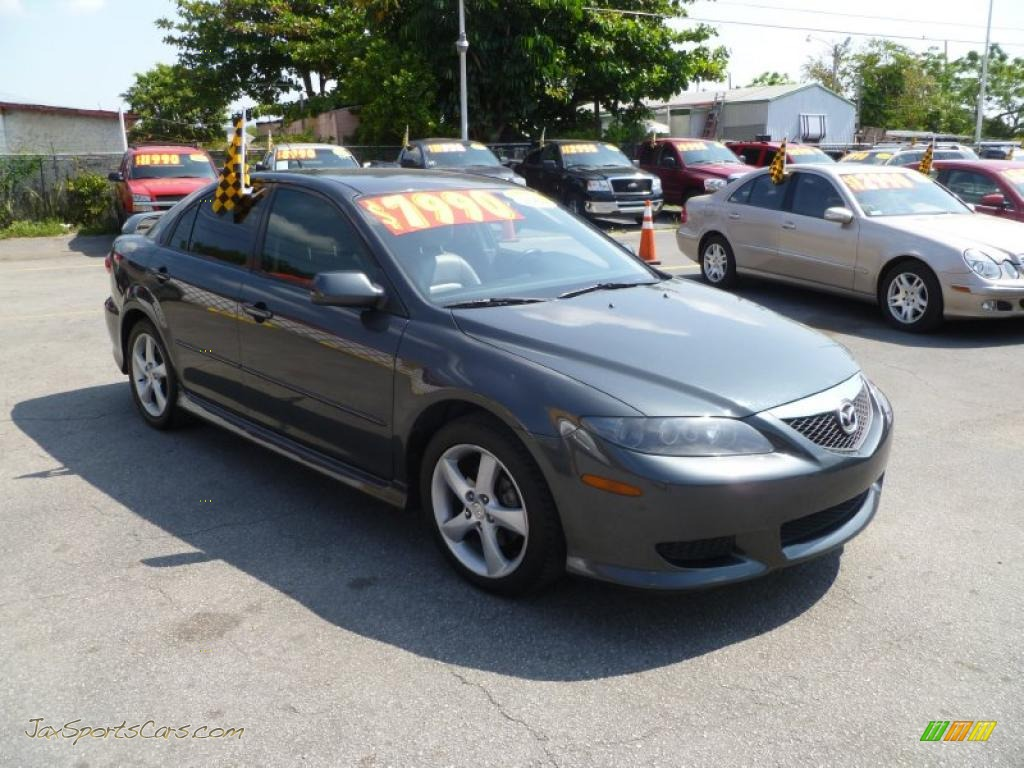 2004 mazda mazda6 s sport sedan in steel gray metallic n57940 jax sports cars cars for. Black Bedroom Furniture Sets. Home Design Ideas