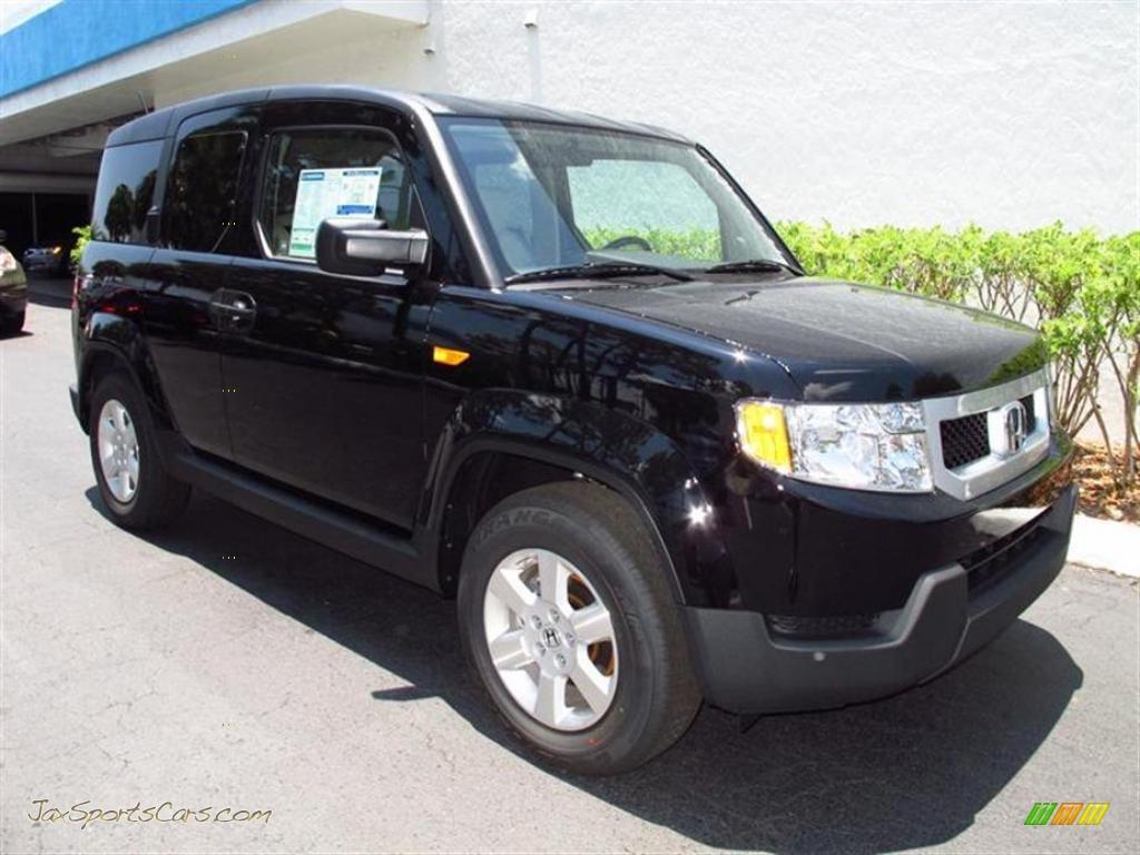 2011 Honda Element Ex In Crystal Black Pearl 004084