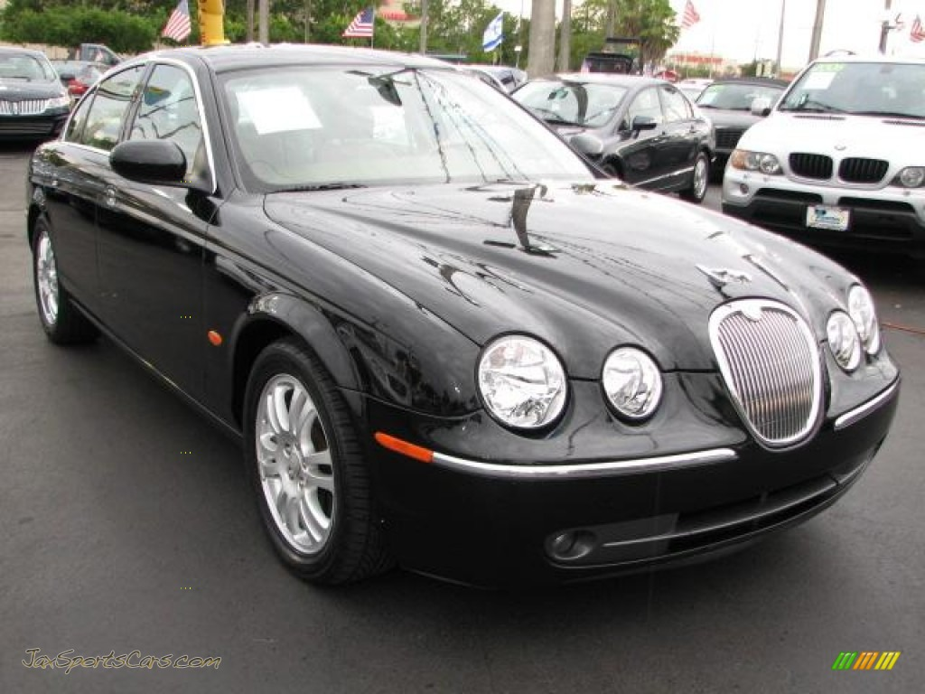 2005 jaguar s type 3 0 in ebony black n24560 jax. Black Bedroom Furniture Sets. Home Design Ideas