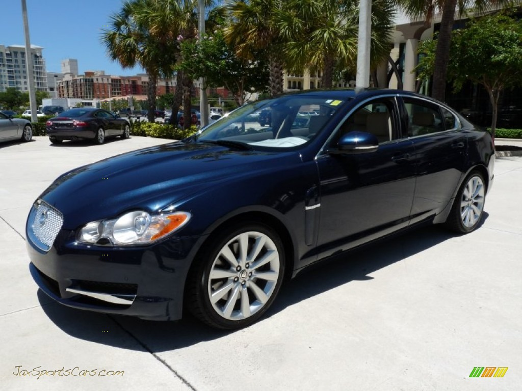 2011 jaguar xf premium sport sedan in indigo blue metallic photo 3 r87817 jax sports cars. Black Bedroom Furniture Sets. Home Design Ideas