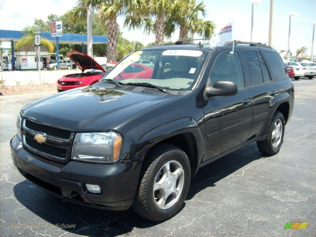 2008 chevrolet trailblazer lt 4x4 in black 136642 jax sports cars cars for sale in florida. Black Bedroom Furniture Sets. Home Design Ideas