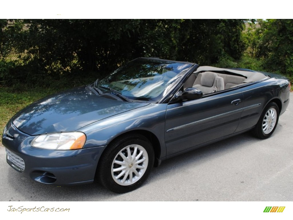 2002 chrysler sebring lx convertible in steel blue pearl 350673. Cars Review. Best American Auto & Cars Review